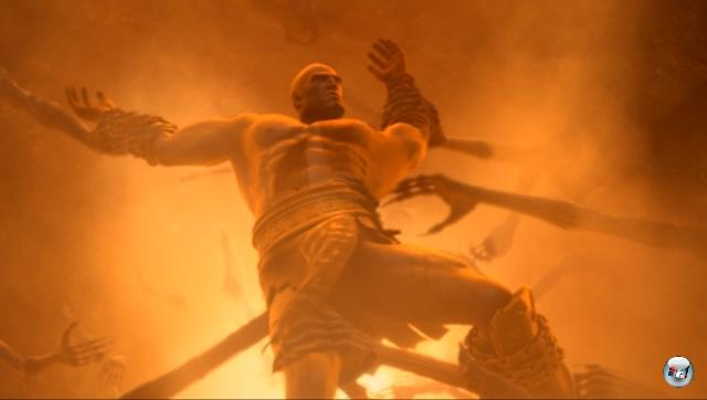 Auch wenn nicht alle Gegner von Kratos in der Mythologie so dargestellt wurden wie im Spiel, kommen sie dem griechischen Original doch sehr nahe. Was jedoch nicht zu den Aufzeichnungen von Homer passt ist der Hades: Im Spiel wird er als dunkler Ort dargestellt der an die Hölle der Christen erinnert. Aber der Hades galt nicht als schreckliches Jenseits, sondern war allen Sterblichen bestimmt. 2072158