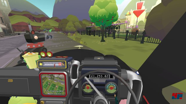 Screenshot - The Modern Zombie Taxi Co. (PlayStation4)