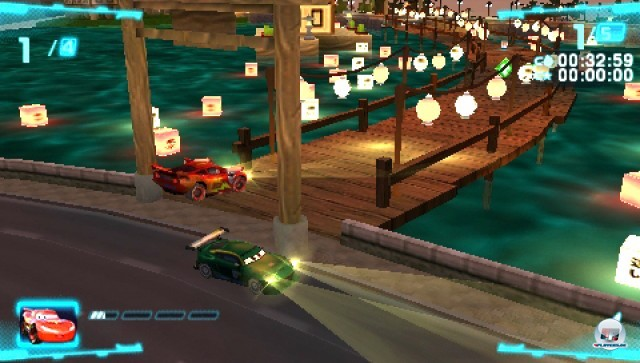 Screenshot - Cars 2 (PSP)
