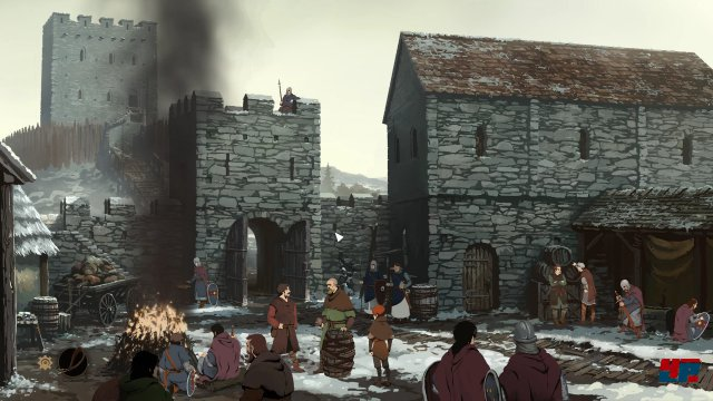 Screenshot - Ken Follett's The Pillars of the Earth (Linux)
