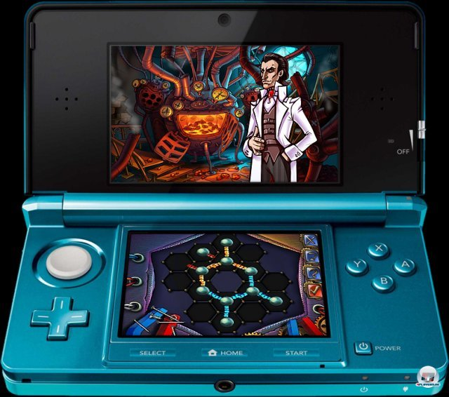 Screenshot - Sherlock Holmes and the Mystery of the Frozen City (3DS) 2373367