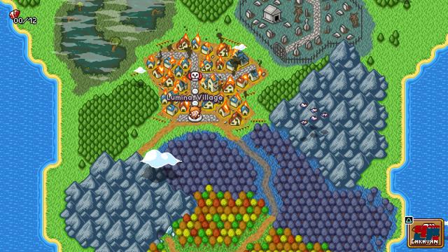 Das Königreich Aventana wird von einer gefräßigen Dämonenwolke bedroht.