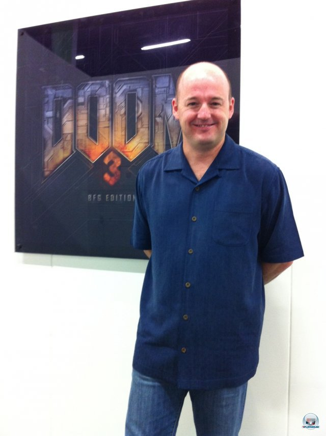 Tim Willits, Creative Director von id Software.