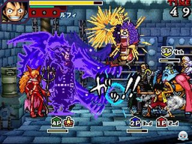 Screenshot - One Piece: Gigant Battle (NDS) 2237533