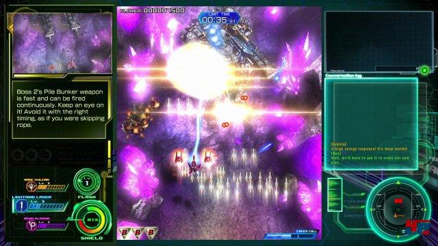 Raiden 5 bringt mit seiner Retro-Action den Bildschirm zum Glühen.