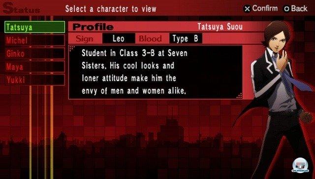 Screenshot - Shin Megami Tensei: Persona 2 - Innocent Sin (PSP) 2254502