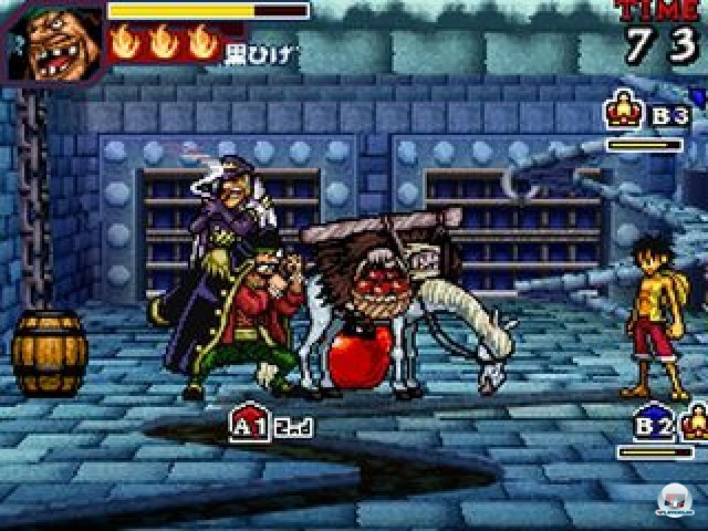Screenshot - One Piece: Gigant Battle (NDS) 2237474