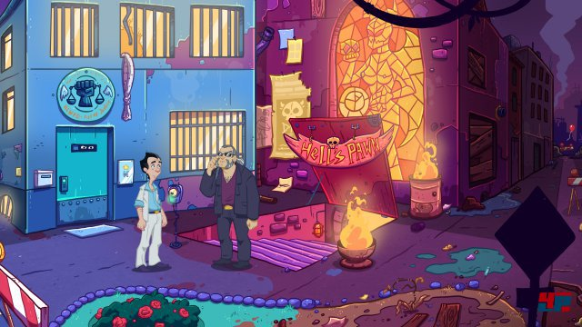 Screenshot - Leisure Suit Larry - Wet Dreams Don't Dry (Mac) 92565598