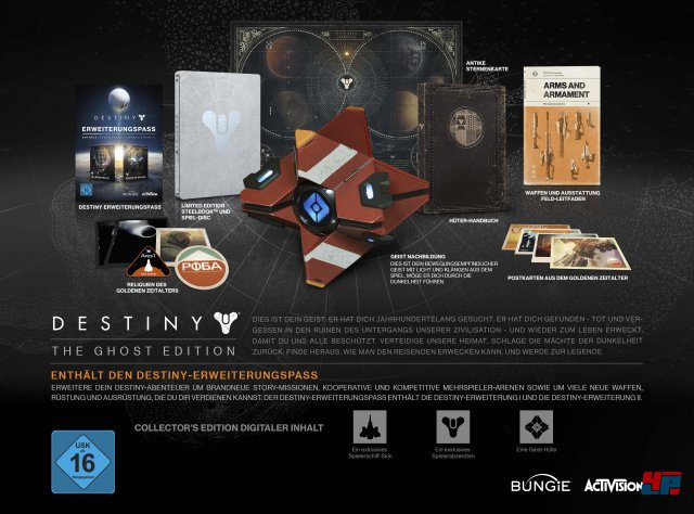 Destiny The Ghost Edition; 159,99 Euro