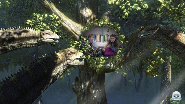 Screenshot - Wonderbook: Walking with Dinosaurs (PlayStation3)
