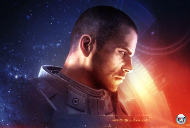 <br><br>Der Spieler schlüpft in die Rolle von Commander Shepard, entweder ein schneidiger Mann oder eine schnittigere Frau, der/die sich auf der Allianzfregatte SSC Normandy befindet. Alles begann damit, dass auf der Erdkolonie Eden Prime ein außerirdisches Artefakt der Protheaner gefunden wurde. Shepard hat die Mission, es zu bergen. 2051243