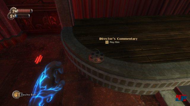 Wer Filmdosen findet, schaltet ein Interview mit BioShock-Vater Ken Levine frei.