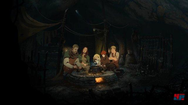 Nachdem Tom Builders Familie auf die Aussätzigen Jack und Ellen trifft, ziehen sie gemeinsam los.