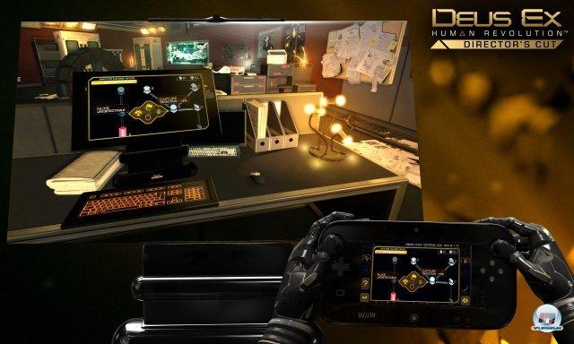 Das Gamepad der Wii U wird sinnvoll eingesetzt.