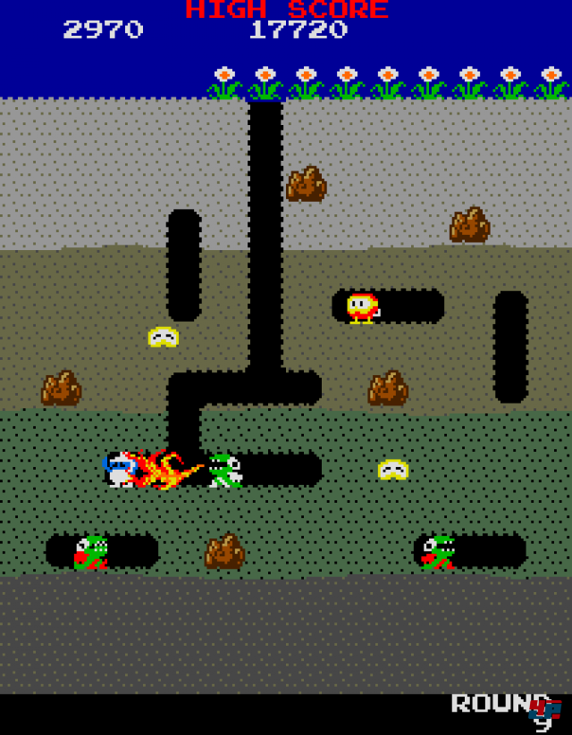 Screenshot - Dig Dug (PC)