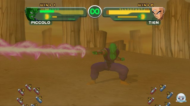 Screenshot - DragonBall Z Budokai HD Collection (PlayStation3)