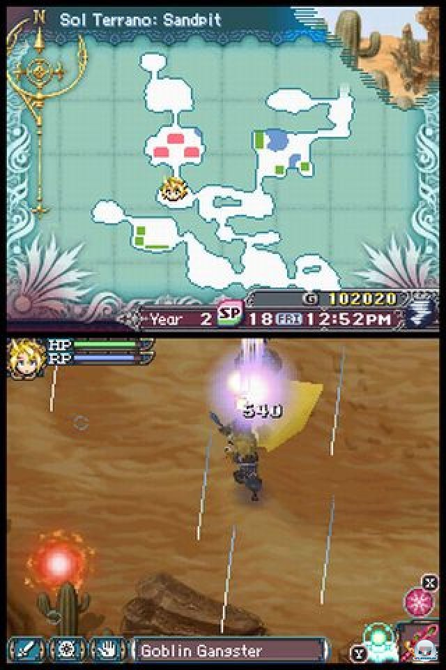 Screenshot - Rune Factory 3: A Fantasy Harvest Moon (NDS) 2273147