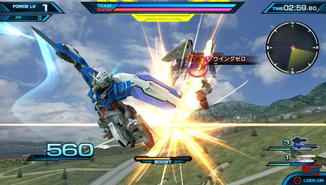 Screenshot - Mobile Suit Gundam: Extreme VS Force (PS_Vita)