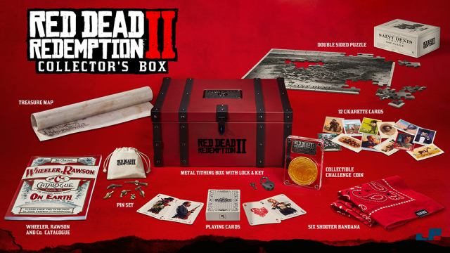 Bildergebnis für red dead redemption 2 collectors box