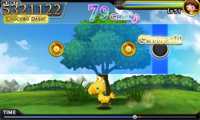 Screenshot - Theatrhythm: Final Fantasy (3DS)