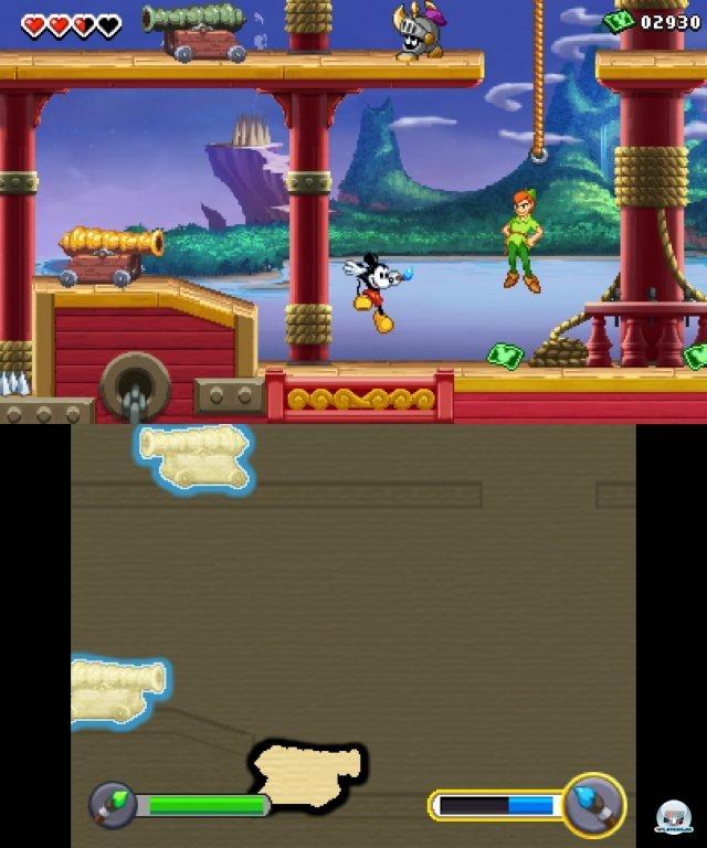Auf dem Touchpad finden sich immer wieder Objekte, die man mit dem Zauberpinsel ausmalen oder wegradieren muss.