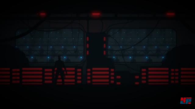 Der unglückliche Pilot fällt auf die Erde - nach dem Aufprall übernimmt die künstliche Intelligenz ARID die Steuerung über seinen Raumanzug.