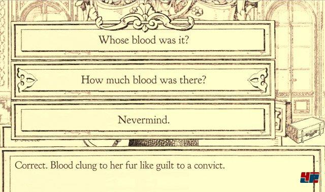 Im Kreuzverhör kann man die Aussagen der Zeugen vertiefen.