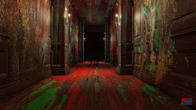 In den düsteren Korridoren warten fiese Psychospielchen à la P.T. auf euch...