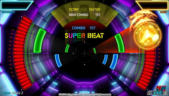 Screenshot - SUPERBEAT XONiC (PS_Vita)