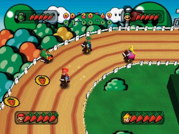 Mario Party (1998)<br><br>Eigentlich ist die Idee verdammt simpel: Versammle vier Spieler vor einem Fernseher, gib ihnen Gamepads in die Hand und lass sie um die Wette kleine Geschicklichkeitstests spielen! Kombiniere das Ganze mit einem Monopoly-ähnlichen Spielfeld sowie Charakteren aus dem Marioversum - und zack, ward das Genre der Minigame-Sammlungen geboren! Party on! 1724685