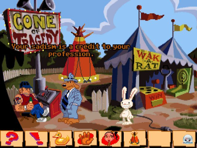 Screenshot - Sam & Max Hit the Road (PC) 92431622