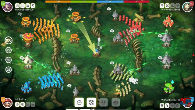 Screenshot - Mushroom Wars 2 (Mac)