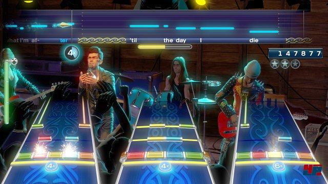 Es bleibt bei der klassischen Besetzung: Gitarre, Bass, (Pro-)Drums und S�nger. Keyboarder und Pro-Gitarristen haben keinen Platz mehr in der Band.