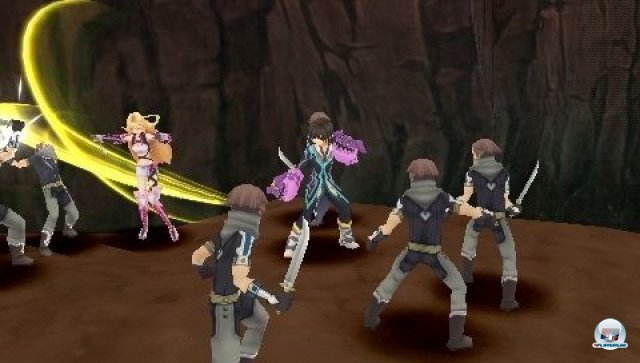 Screenshot - Tales of the Heroes: Twin Brave (PSP) 2295422