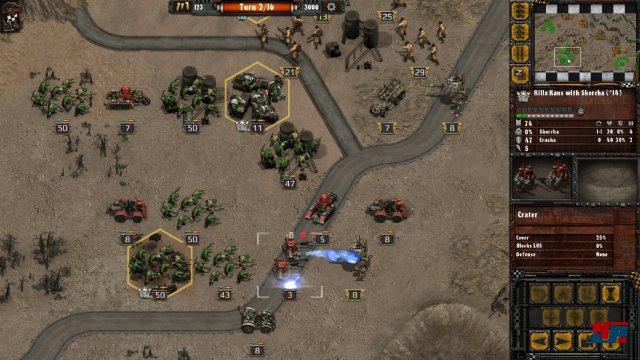Screenshot - Warhammer 40.000: Armageddon - Da Orks (iPad) 92531380