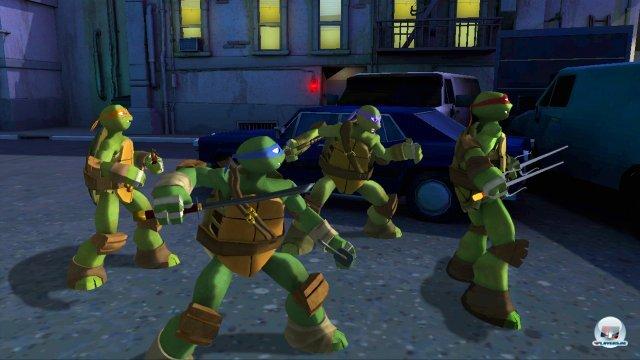 Screenshot - Teenage Mutant Ninja Turtles (360)