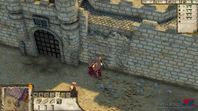 Hacke im Anschlag: Infanterie kann Mauern wieder angreifen.
