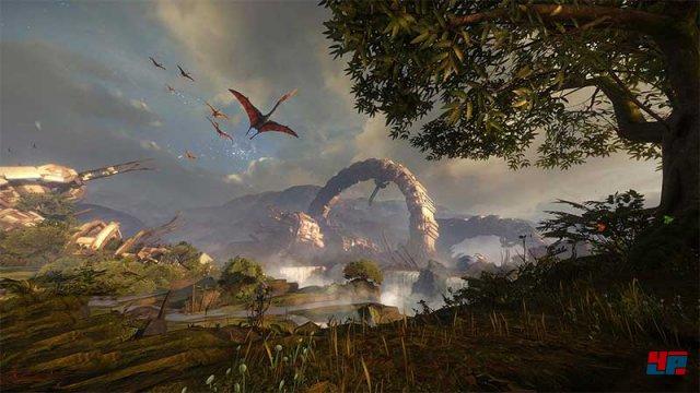 Der Ausblick gibt einen Vorgeschmack auf die Welt von Back to Dinosaur Island.