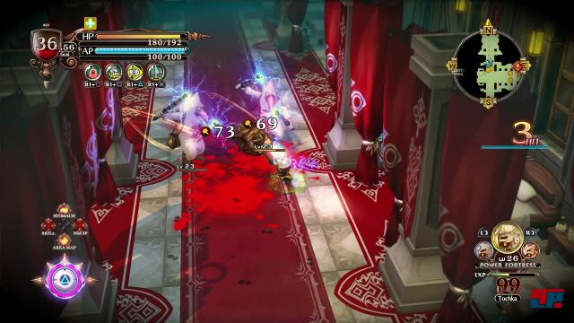 Mit seinen flinken Waffen- und Maskenwechseln ist Hundred Knight ein äußerst vielseitiger Krieger.