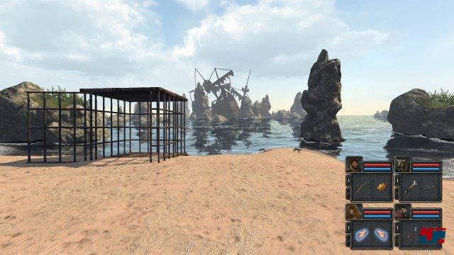 Alles beginnt damit, dass die vier Gefangenen auf einer Insel Schiffbruch erleiden - schnell sind sie aus dem K�fig geflohen und theoretisch frei.