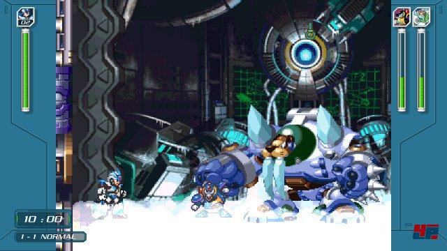 Ganz neu: Die X-Challenges. Hier tritt man mit freier Waffenauswahl gegen mehrere Bosse an.
