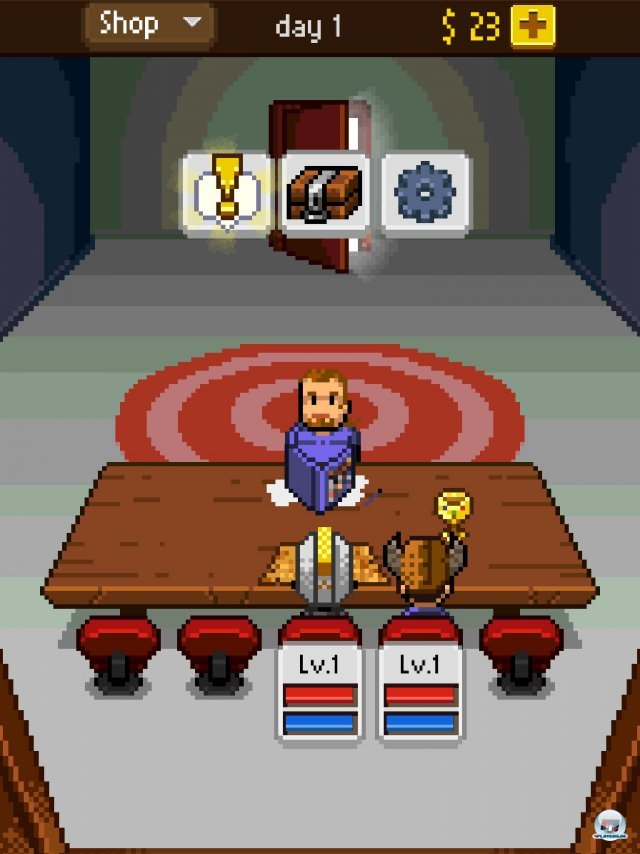 Screenshot - Knights of Pen & Paper (iPad) 92458308