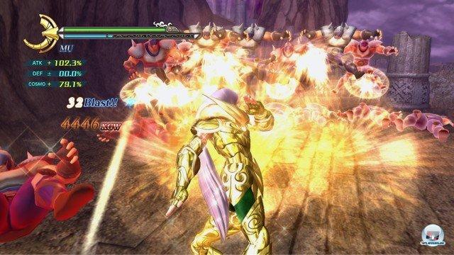 Screenshot - Saint Seiya: Sanctuary Battle (PlayStation3) 2274162