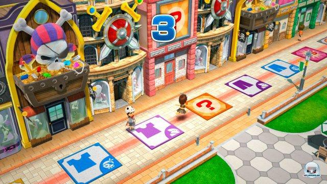 Die brettspielartigen Metaspiele k�nnen durchaus als Mario-Party-Ersatz herhalten.