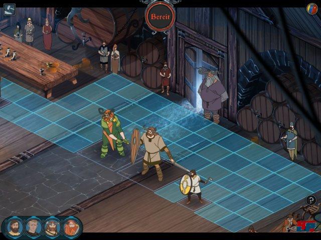 Im Kampf kann man etwas näher heranzoomen. Schon der Prototyp des Spiels lief übrigens auf iPad.