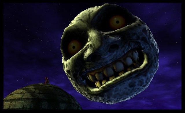 Könnt ihr den bösen Mond in drei Tagen aufhalten? The Legend of Zelda: Majoras Mask erschien 2000 auf dem N64 und wurde 2009 auch für Wii veröffentlicht.