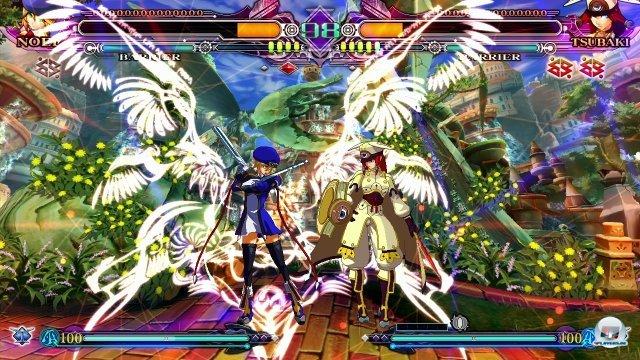 Ja, auch so kann ein Beat-em-Up aussehen! BlazBlue ist nach wie vor der ungeschlagene Herrscher der 2D-Pixelpracht.