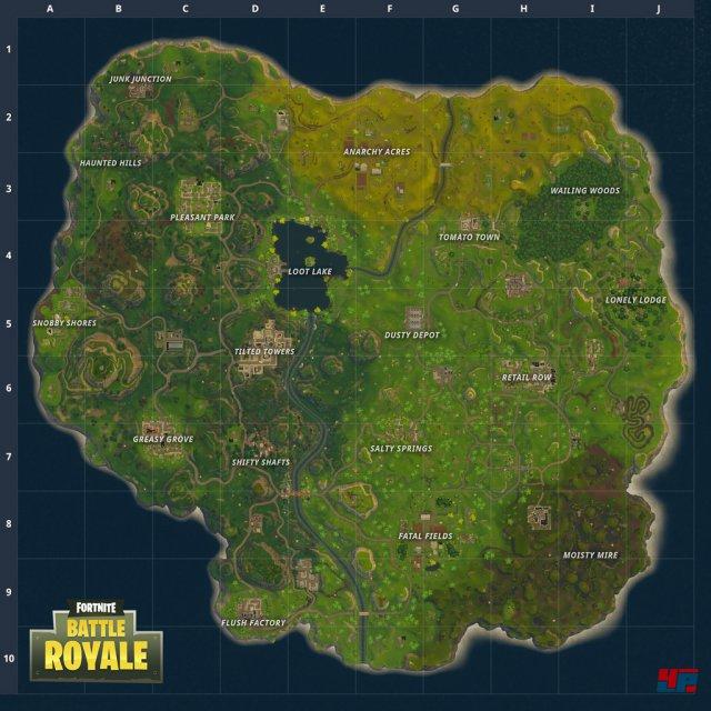 Die überarbeitete Version der Battle-Royale-Karte