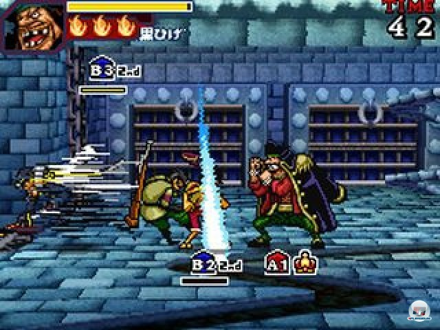 Screenshot - One Piece: Gigant Battle (NDS) 2237503