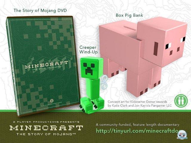 <b>Minecraft: The Story of Mojang</b> <br><br> Ebenfalls im Aufwind: Vorab finanzierte Bücher und Dokus über Videospiele. Minecraft: The Story of Mojang von 2 Player Productions dreht sich um die ungewöhnliche Entwicklungsgeschichte von Markus Perssons Indie-Phänomen. 2341502